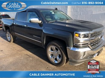 2017 Graphite Metallic Chevy Silverado 1500 LTZ EcoTec3 6.2L V8 Engine 4X4 Automatic