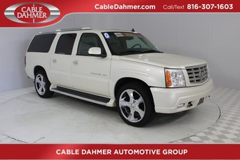 2006 White Diamond Cadillac Escalade ESV Base AWD Automatic 4 Door