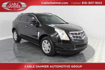 2012 Black Cadillac SRX Luxury Collection Automatic FWD 3.6L V6 SIDI DOHC VVT Engine 4 Door SUV