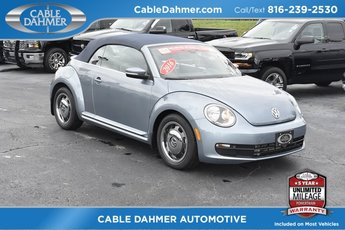 2016 Denim Blue Volkswagen Beetle 1.8T Denim 2 Door FWD 1.8L 4-Cylinder Turbocharged DOHC Engine
