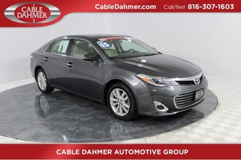 2015 Magnetic Gray Metallic Toyota Avalon Limited Sedan 3.5L V6 DOHC Dual VVT-i 24V Engine FWD 4 Door Automatic