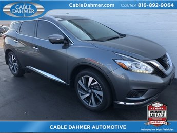 2015 Gray Nissan Murano Platinum 3.5L V6 DOHC Engine 4 Door AWD SUV Automatic (CVT)