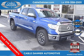 2017 Blazing Blue Pearl Toyota Tundra Limited Truck 4 Door Automatic 4X4 5.7L 8-Cylinder SMPI Flex Fuel DOHC Engine