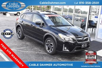 2016 Black Subaru Crosstrek Premium 2.0L 16V DOHC Engine AWD 4 Door SUV