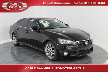 2015 Black Lexus GS 350 Sedan 3.5L V6 DOHC 24V Engine 4 Door Automatic