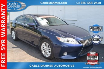 2015 Blue Lexus ES 350 Automatic FWD 3.5L V6 DOHC Dual VVT-i 24V Engine Sedan 4 Door