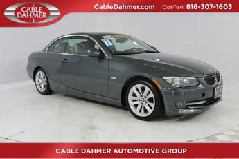 2011 BMW 3 Series 328i RWD 3.0L 6-Cylinder DOHC 24V Engine 2 Door