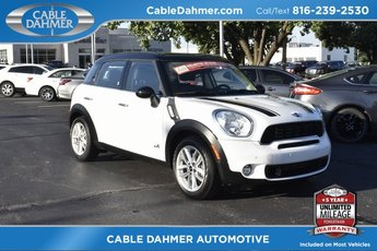 2014 MINI Cooper S Countryman S SUV 4 Door 1.6L I4 DOHC 16V Turbocharged Engine AWD Automatic