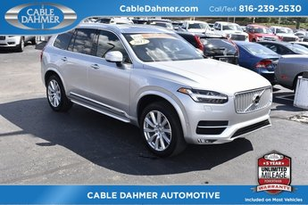 2017 Bright Silver Metallic Volvo XC90 Inscription SUV Automatic 4 Door