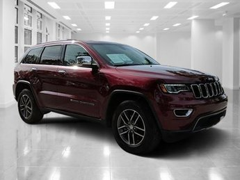 2017 Velvet Red Pearlcoat Jeep Grand Cherokee Limited SUV RWD Automatic