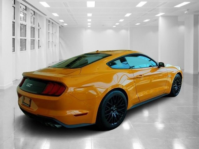 2019 Orange Fury Metallic Tri-Coat Ford Mustang GT Premium Premium Unleaded V-8 5.0 L/302 Engine 2 Door Manual RWD