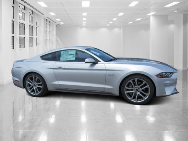 2018 Ingot Silver Metallic Ford Mustang GT Premium Coupe Premium Unleaded V-8 5.0 L/302 Engine RWD 2 Door Automatic