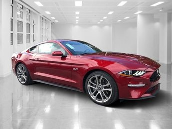 2019 Ruby Red Metallic Tinted Clearcoat Ford Mustang GT Premium Premium Unleaded V-8 5.0 L/302 Engine 2 Door Automatic Coupe RWD
