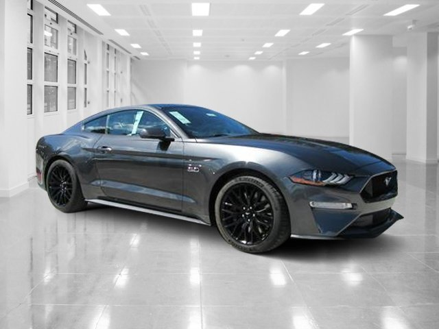 2019 Magnetic Metallic Ford Mustang GT 2 Door Premium Unleaded V-8 5.0 L/302 Engine Manual Coupe RWD