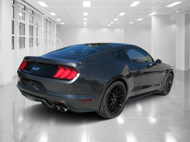 2019 Magnetic Metallic Ford Mustang GT Premium Unleaded V-8 5.0 L/302 Engine 2 Door Coupe RWD Manual
