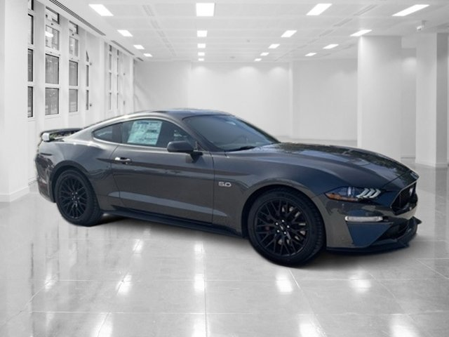 2019 Magnetic Metallic Ford Mustang GT Premium RWD Premium Unleaded V-8 5.0 L/302 Engine Coupe 2 Door Manual