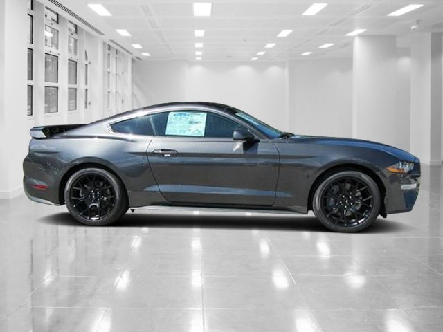 2019 Magnetic Metallic Ford Mustang EcoBoost Premium Manual Coupe RWD 2 Door Intercooled Turbo Premium Unleaded I-4 2.3 L/140 Engine