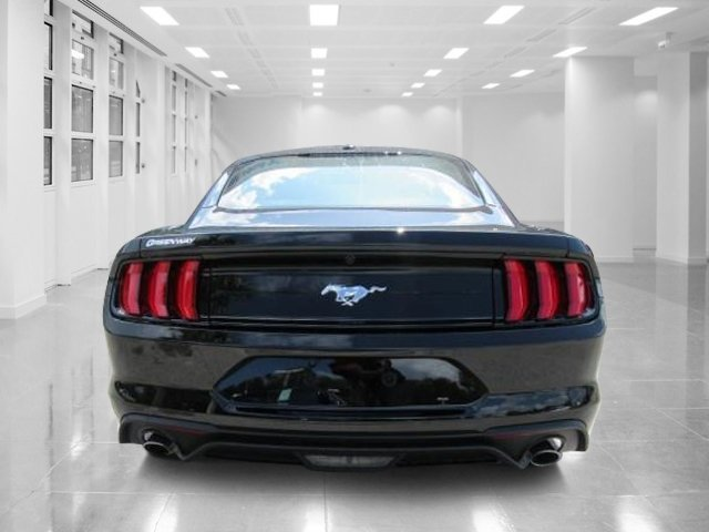 2019 Shadow Black Ford Mustang EcoBoost Automatic Coupe 2 Door Intercooled Turbo Premium Unleaded I-4 2.3 L/140 Engine