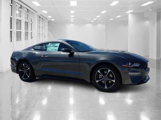 2019 Magnetic Metallic Ford Mustang EcoBoost Intercooled Turbo Premium Unleaded I-4 2.3 L/140 Engine Coupe Automatic RWD