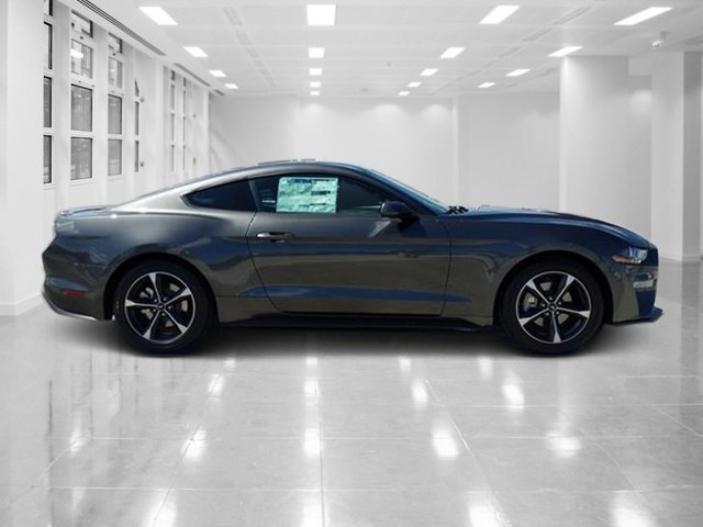 2019 Magnetic Metallic Ford Mustang EcoBoost RWD 2 Door Automatic Coupe Intercooled Turbo Premium Unleaded I-4 2.3 L/140 Engine