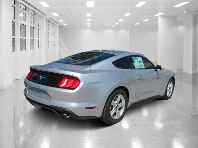 2019 Ingot Silver Metallic Ford Mustang EcoBoost Coupe Automatic Intercooled Turbo Premium Unleaded I-4 2.3 L/140 Engine RWD