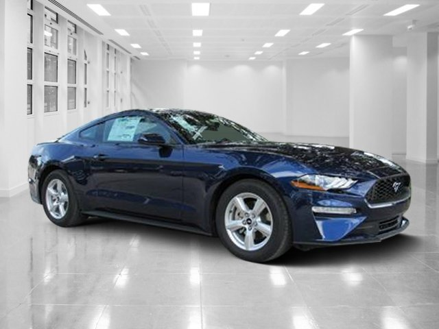 2019 Kona Blue Metallic Ford Mustang EcoBoost Coupe 2 Door Intercooled Turbo Premium Unleaded I-4 2.3 L/140 Engine