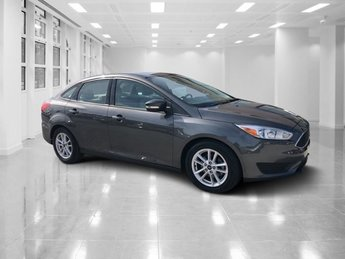 2016 Gray Ford Focus SE 4 Door Sedan Automatic