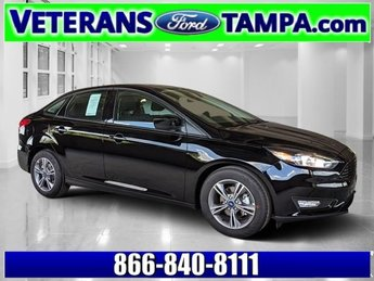 2018 Shadow Black Ford Focus SE Sedan Automatic FWD 4 Door Intercooled Turbo Regular Unleaded I-3 1.0 L/61 Engine