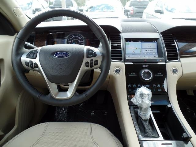 2018 White Gold Metallic Ford Taurus Limited FWD Automatic Regular Unleaded V-6 3.5 L/213 Engine 4 Door Sedan