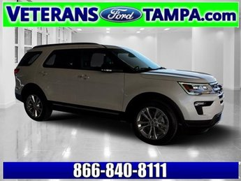 2018 Ford Explorer XLT 4 Door SUV Regular Unleaded V-6 3.5 L/213 Engine Automatic FWD