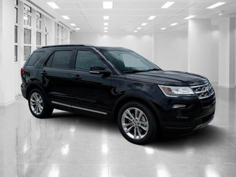2018 Shadow Black Ford Explorer XLT SUV 4 Door FWD Regular Unleaded V-6 3.5 L/213 Engine Automatic