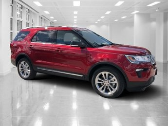 2019 Ruby Red Metallic Tinted Clearcoat Ford Explorer XLT 4 Door SUV Regular Unleaded V-6 3.5 L/213 Engine FWD