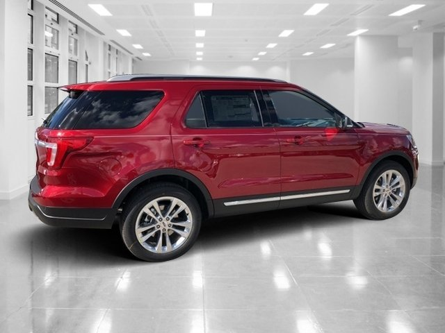 2019 Ruby Red Metallic Tinted Clearcoat Ford Explorer XLT Automatic 4 Door Regular Unleaded V-6 3.5 L/213 Engine