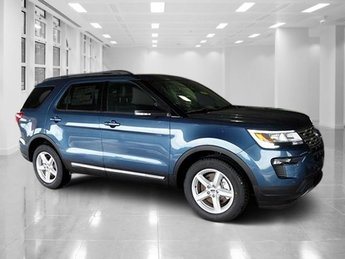 2018 Blue Metallic Ford Explorer XLT Automatic Regular Unleaded V-6 3.5 L/213 Engine FWD