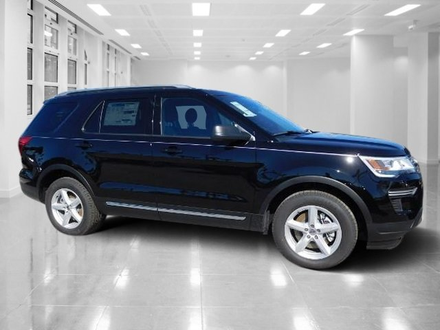 2018 Shadow Black Ford Explorer XLT 4 Door Intercooled Turbo Premium Unleaded I-4 2.3 L/140 Engine SUV Automatic FWD