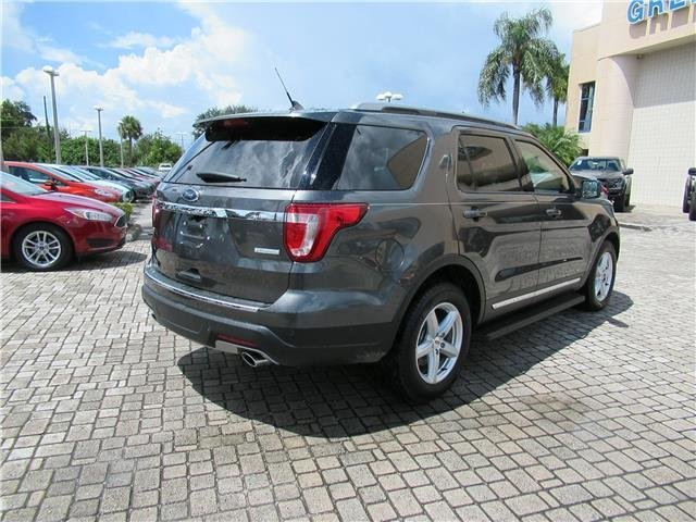 2018 Magnetic Metallic Ford Explorer XLT Intercooled Turbo Premium Unleaded I-4 2.3 L/140 Engine Automatic SUV 4 Door FWD