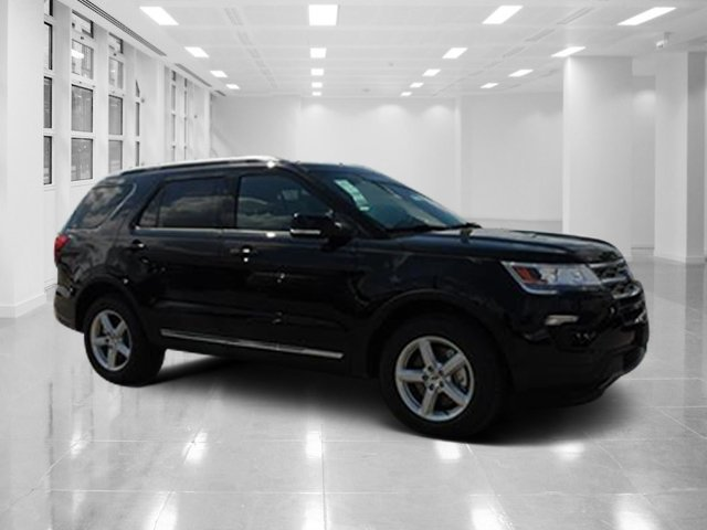 2018 Shadow Black Ford Explorer XLT FWD SUV Automatic