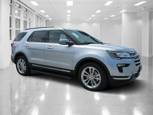 2018 Ingot Silver Metallic Ford Explorer Limited 4 Door Automatic SUV Intercooled Turbo Premium Unleaded I-4 2.3 L/140 Engine