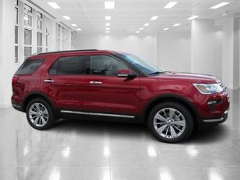 2018 Ford Explorer Limited Automatic SUV 4 Door FWD Intercooled Turbo Premium Unleaded I-4 2.3 L/140 Engine