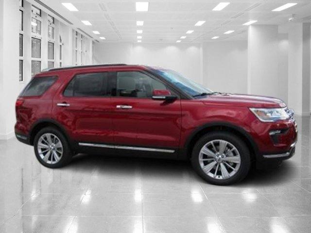 2018 Ford Explorer Limited Intercooled Turbo Premium Unleaded I-4 2.3 L/140 Engine SUV 4 Door FWD