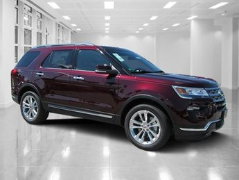 2018 Ford Explorer Limited SUV Intercooled Turbo Premium Unleaded I-4 2.3 L/140 Engine 4 Door