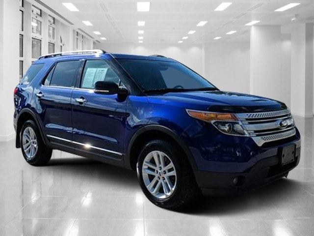 2015 Deep Impact Blue Metallic Ford Explorer XLT Automatic Regular Unleaded V-6 3.5 L/213 Engine AWD 4 Door