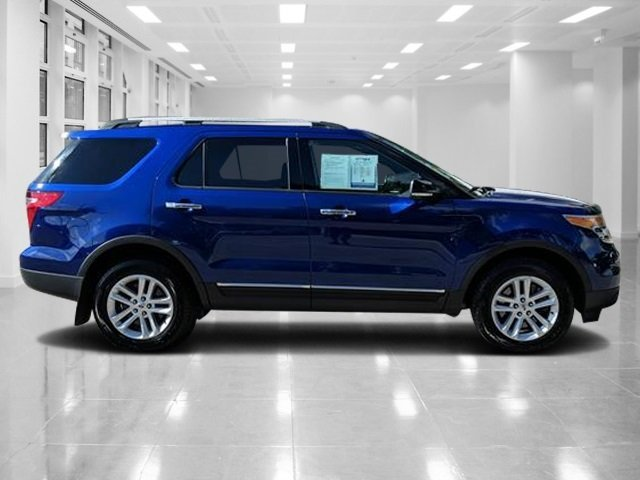 2015 Deep Impact Blue Metallic Ford Explorer XLT Regular Unleaded V-6 3.5 L/213 Engine SUV AWD Automatic 4 Door