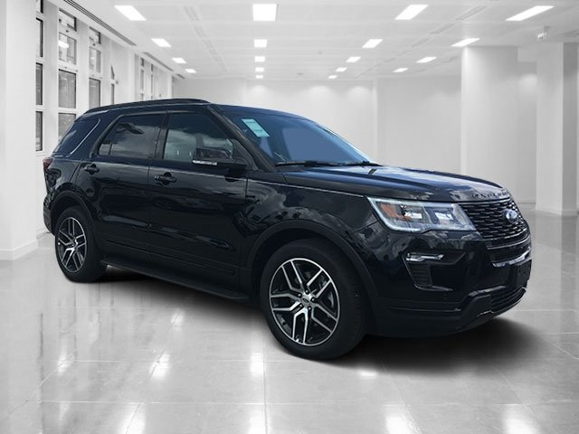 2018 Shadow Black Ford Explorer Sport AWD SUV Automatic
