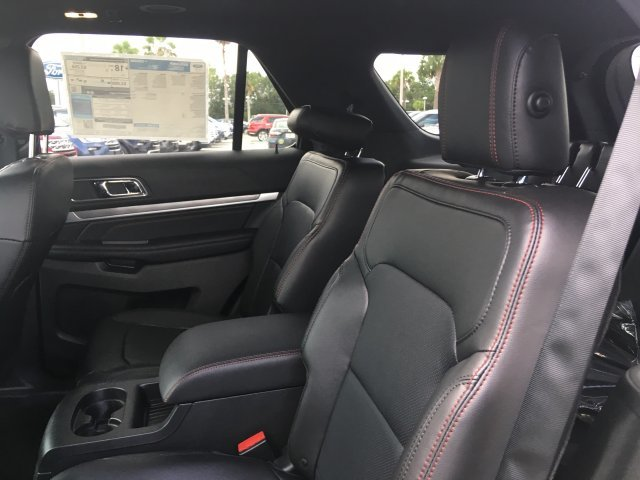 2018 Ford Explorer Sport Automatic SUV 4 Door Twin Turbo Premium Unleaded V-6 3.5 L/213 Engine AWD