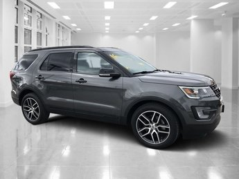 2016 Ford Explorer Sport Twin Turbo Premium Unleaded V-6 3.5 L/213 Engine SUV Automatic 4 Door AWD