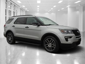 2018 Ford Explorer Sport Automatic AWD SUV Twin Turbo Premium Unleaded V-6 3.5 L/213 Engine 4 Door