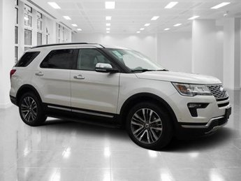 2018 Ford Explorer Platinum Automatic AWD Twin Turbo Premium Unleaded V-6 3.5 L/213 Engine