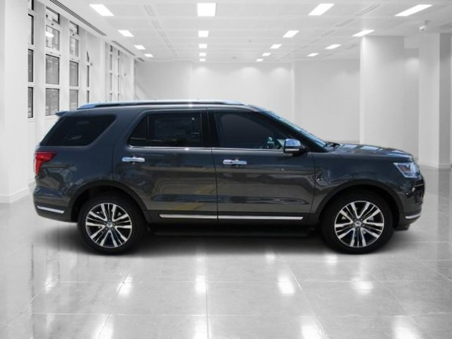 2018 Magnetic Metallic Ford Explorer Platinum Automatic SUV AWD