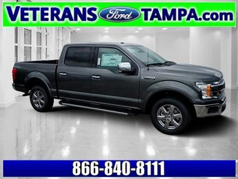 2018 Magnetic Metallic Ford F-150 Lariat Automatic Truck Regular Unleaded V-8 5.0 L/302 Engine 4 Door RWD
